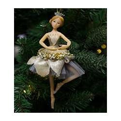 Ballerina med velour skørt