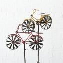 Cykel vindmølle- rød