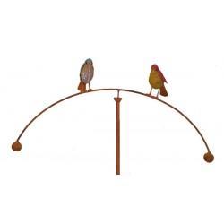 Vindspil med to fugle