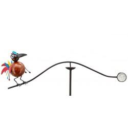 Vindspil med fuglen Funky
