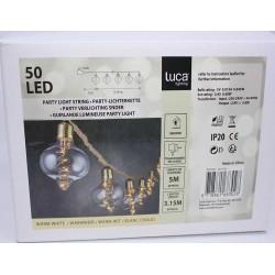 LED bred glødekæde