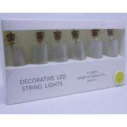 Flaske lyskæde