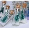 Flaske lyskæde med juletræ