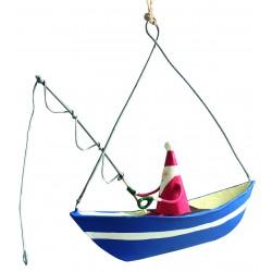 Julemand i blå båd