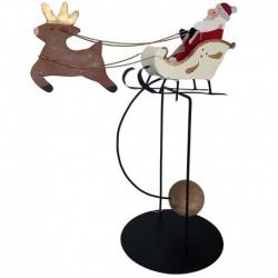 Julemandsvippe med kane