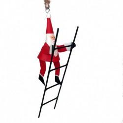 Julemand på stige