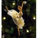 Ballerina blonde/tyl skørt- arm op