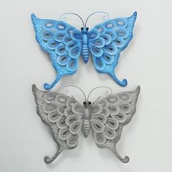 Vægophæng Sommerfugl- blå