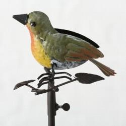 Grøn fugl regnmåler