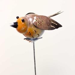 Fugl stikker