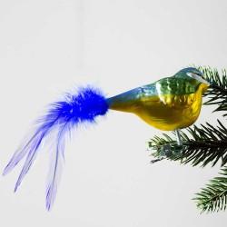 Glasfugl- Blåmejse