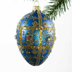Faberge æg patrol med guld