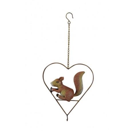 Foderhjerte- Egern