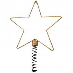 Topstjerne til ynglings-julepynt