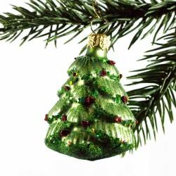 Glaspynt- Juletræ- pynt