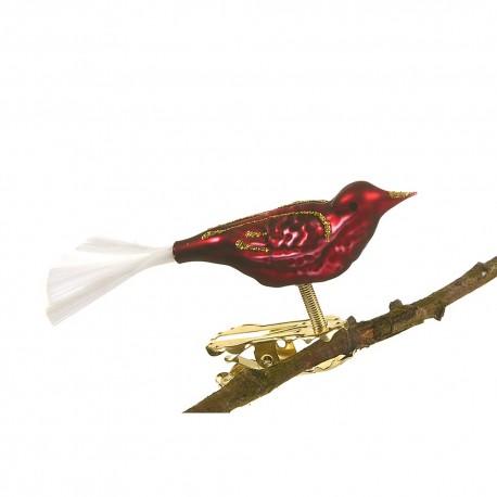 Glasfugl Bordeaux- glashale