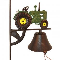 Traktor klokke- Grøn