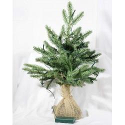 Juletræ med lys
