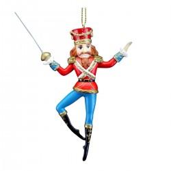 Nøddeknækker- Soldat med sværd