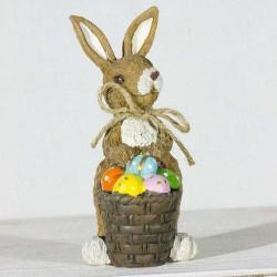 Påske- Hare- æg i kurv
