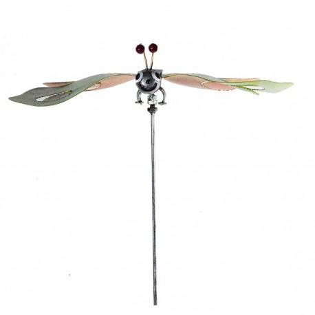 Sommerfugl på stikker- Grønlig
