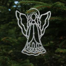Engel i sølv