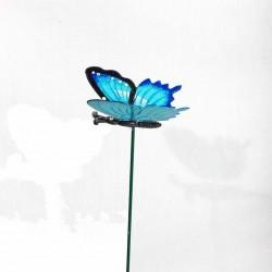 Sommerfugl- Stik- Blå
