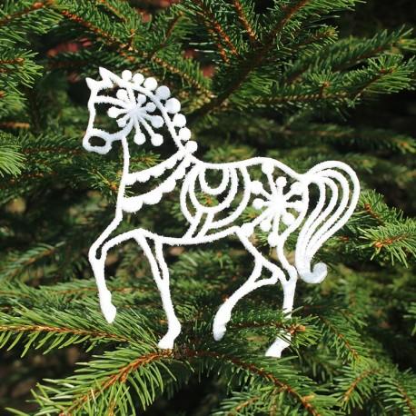 Hest i hvid