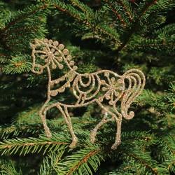 Hest i guld