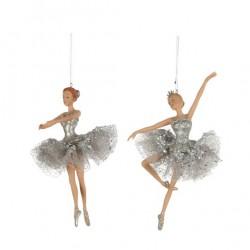 Sølv ballerina