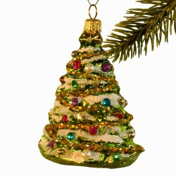 Glaskugle- Juletræ