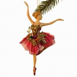 Ballerina guld blad- Pink