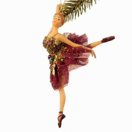 Ballerina guld blad- Lilla