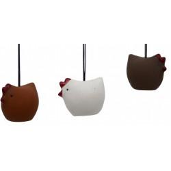 Keramikhøne- stor