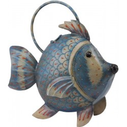 Fisk vandkande- blå