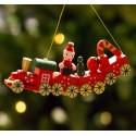 Retro træ julepynt